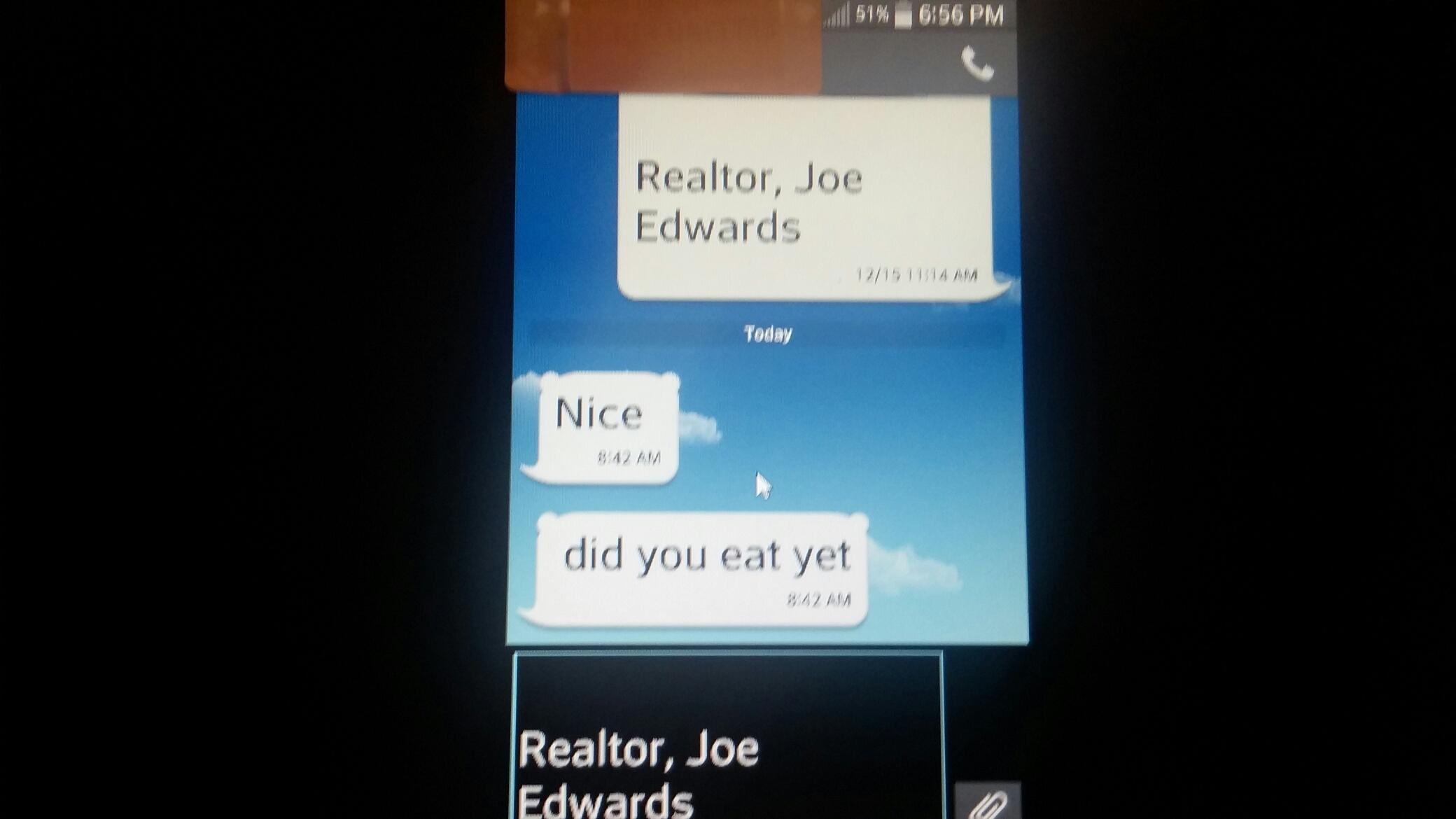 1 annoying text