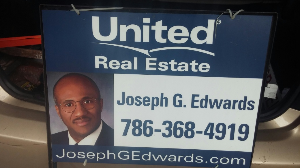 Miami Realtor Joseph G Edwards