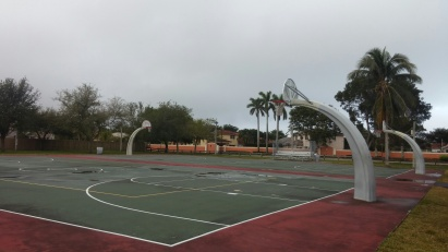 4 Basket Ball courts at Lago Mar Park